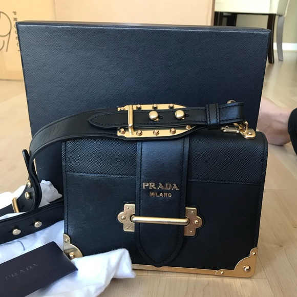 7eff70d9381 Zara Bags   Black Genuine Leather And Gold Cahier Bag   Poshmark